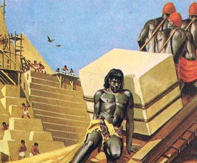 гаванью и пирамидой Хеопса